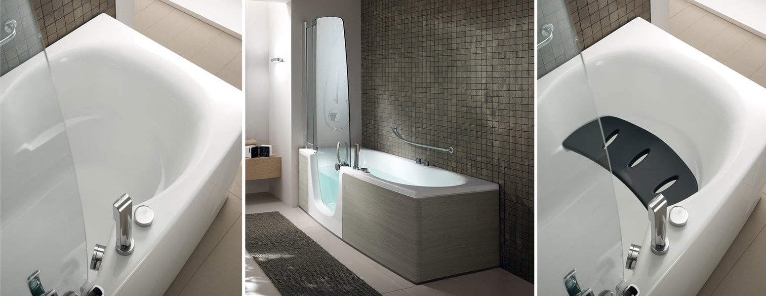 Vasche combinate innerhofer spa idrotermosanitari - Vasche da bagno combinate ...