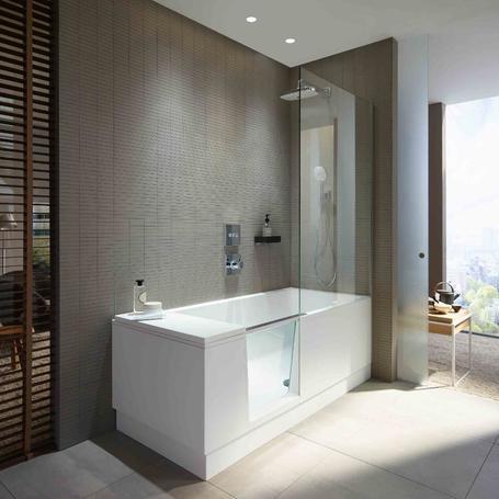 Dusche? Badewanne? Beides!