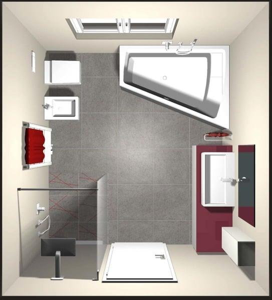 Il bagno quadrato innerhofer spa idrotermosanitari alto adige - Disposizione piastrelle bagno ...